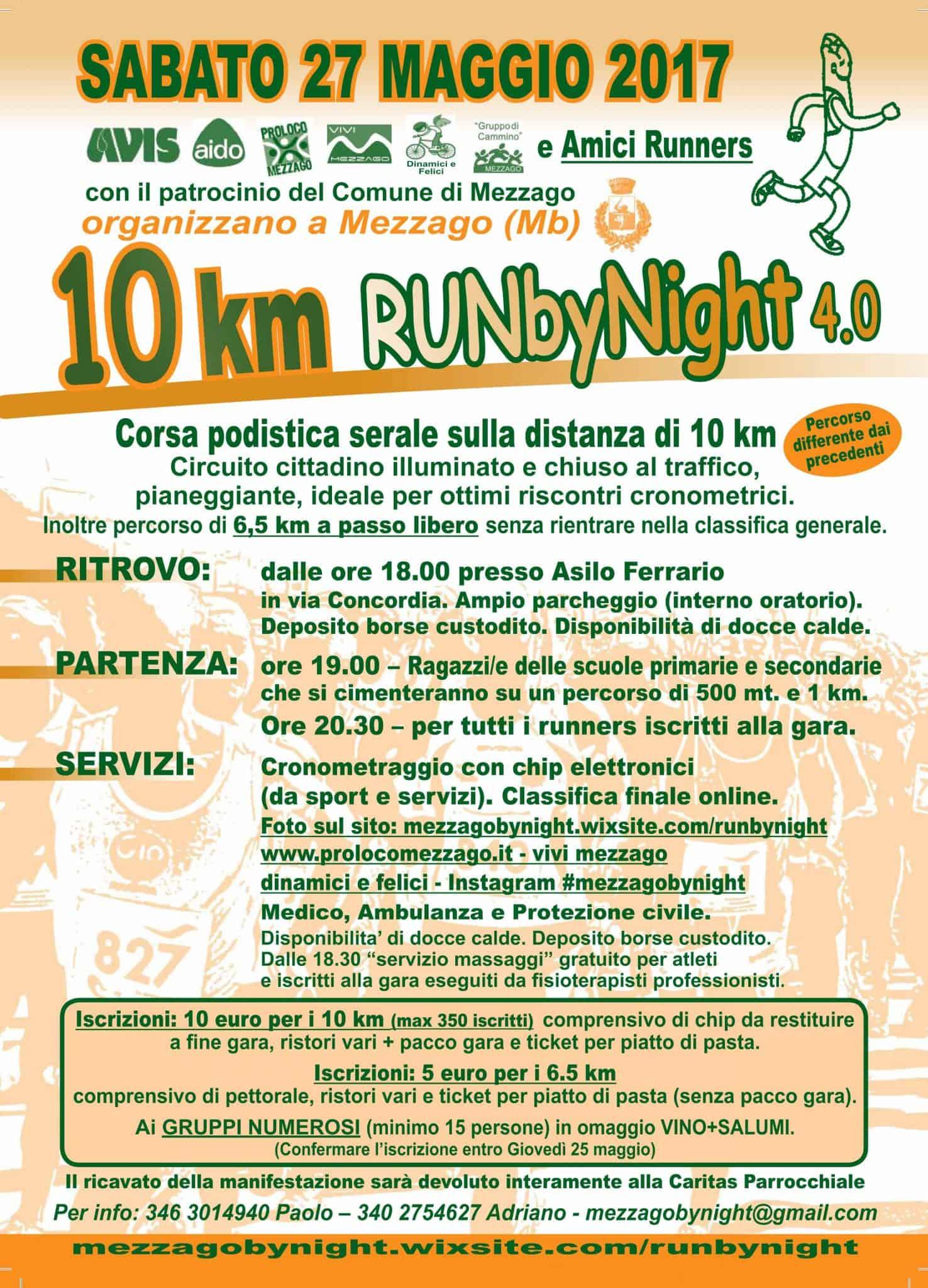 Mezzago Run By Night 4.0 2017
